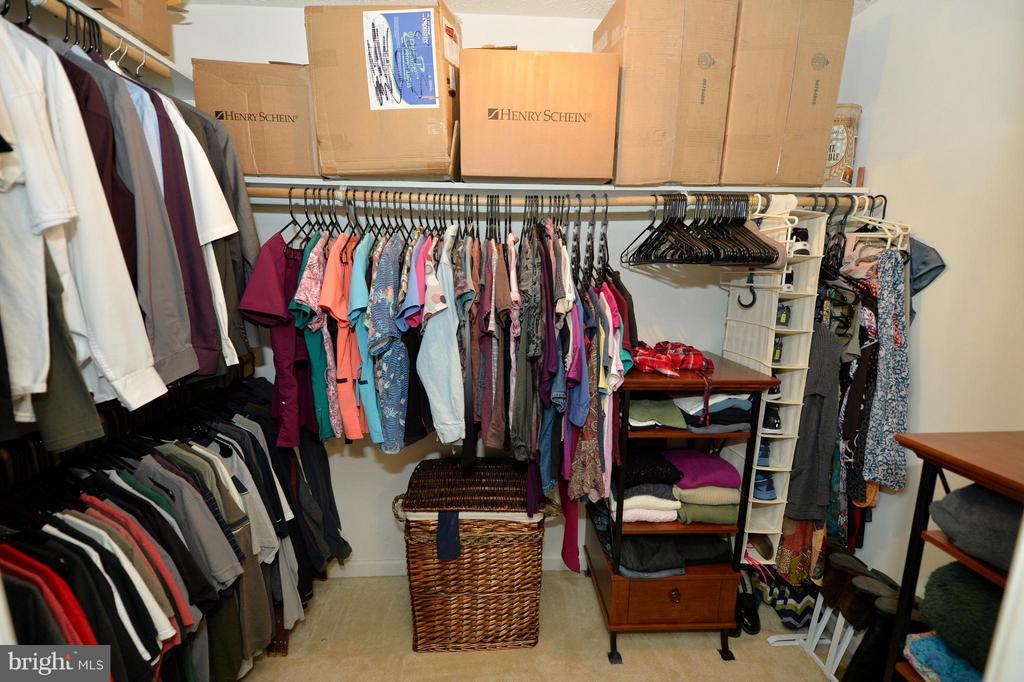 Huge Walk-in Closet in the Master Bedroom - 39 CONIFER CT, HARPERS FERRY