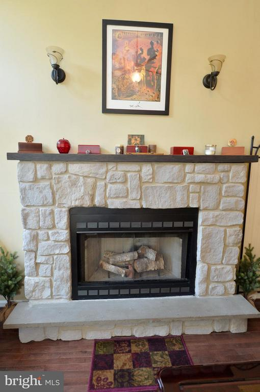 Living Room Gas Fireplace - 39 CONIFER CT, HARPERS FERRY