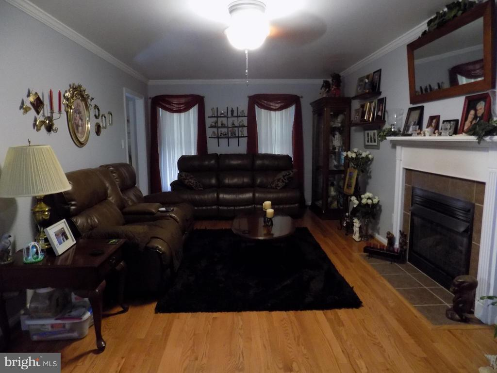 Living Room with gas fireplace for cozy evenings - 10285 REDBUD RD, UNIONVILLE