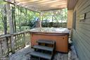Hot Tub with Arbor Above - 39 CONIFER CT, HARPERS FERRY