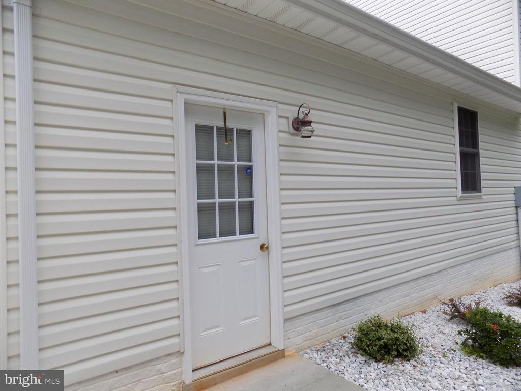 Exterior (Rear) Side door to detached garage - 10285 REDBUD RD, UNIONVILLE