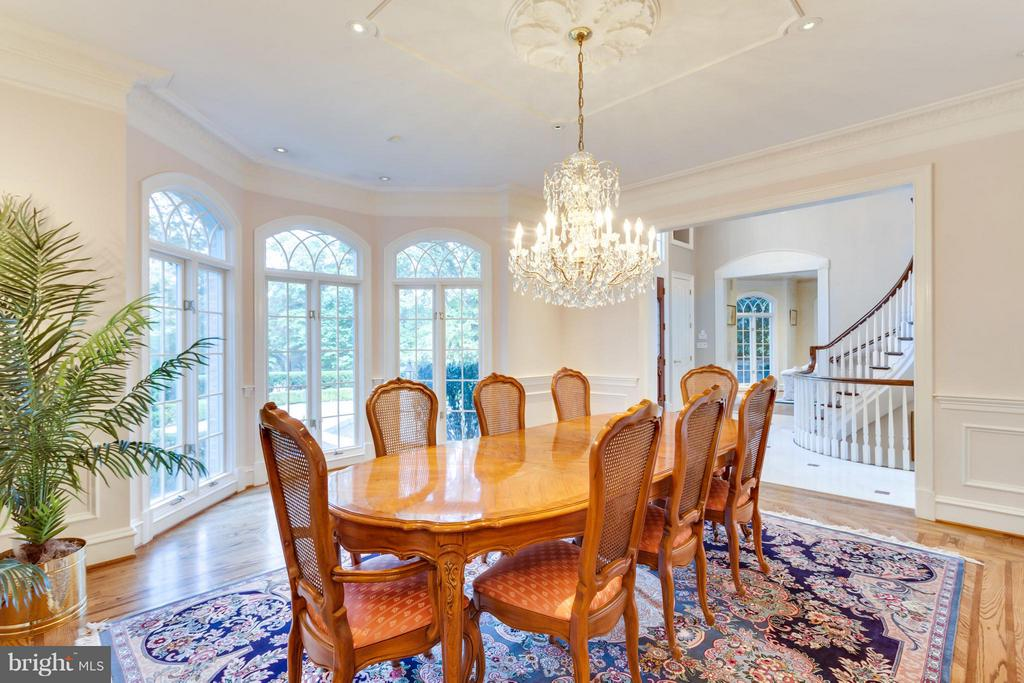 Dining Room - 1031 TOWLSTON RD, MCLEAN
