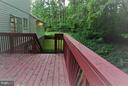 deck - 6450-CT HONEY TREE CT, BURKE
