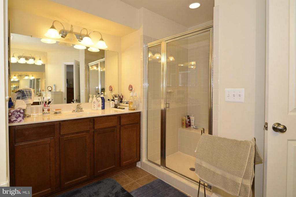Upper Level Master Bath - 21203 NED DR, ASHBURN