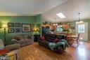 Living Room - 625 AZALEA ST, CULPEPER