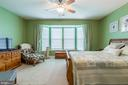 Master Bedroom with Bay Window - 4009 HISTORIC VIRGINIA CT, DUMFRIES