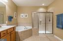 Master Bath with Soaking Tub - 4009 HISTORIC VIRGINIA CT, DUMFRIES