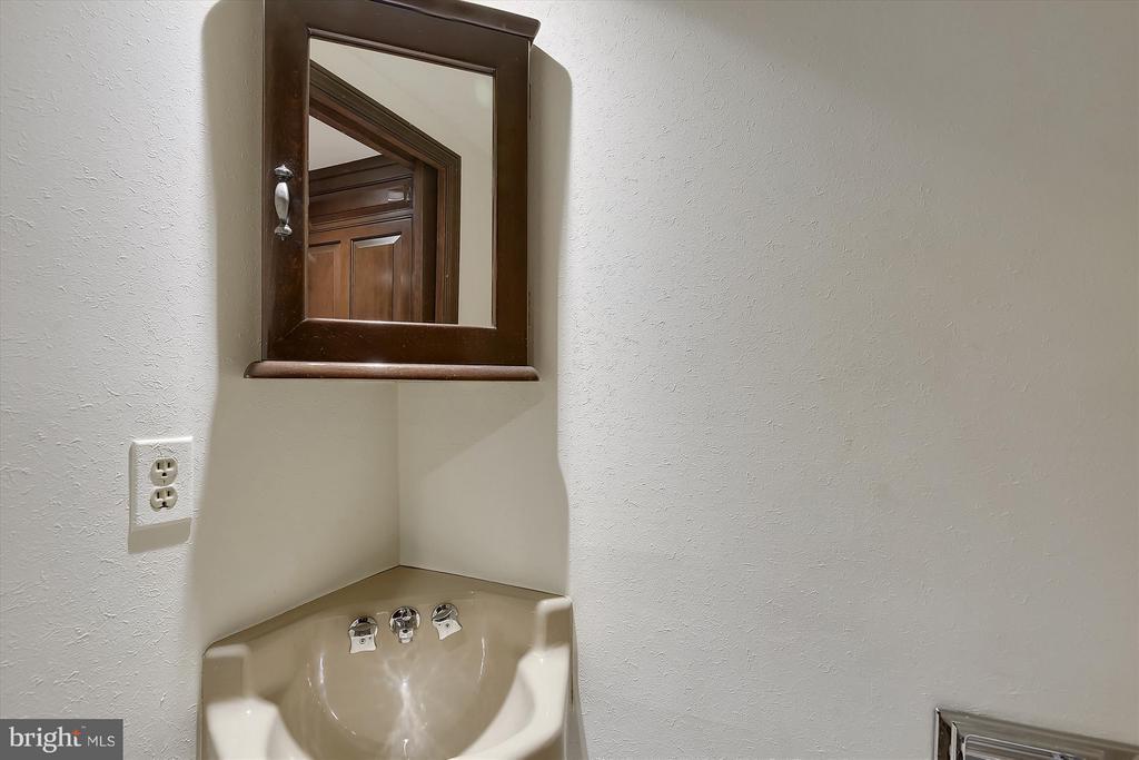1st Floor 1/2 bathroom - 2034 O ST NW, WASHINGTON