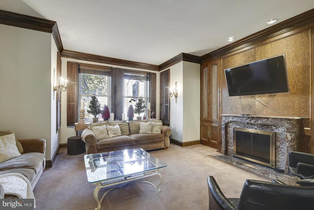 Living Room - 2034 O ST NW, WASHINGTON