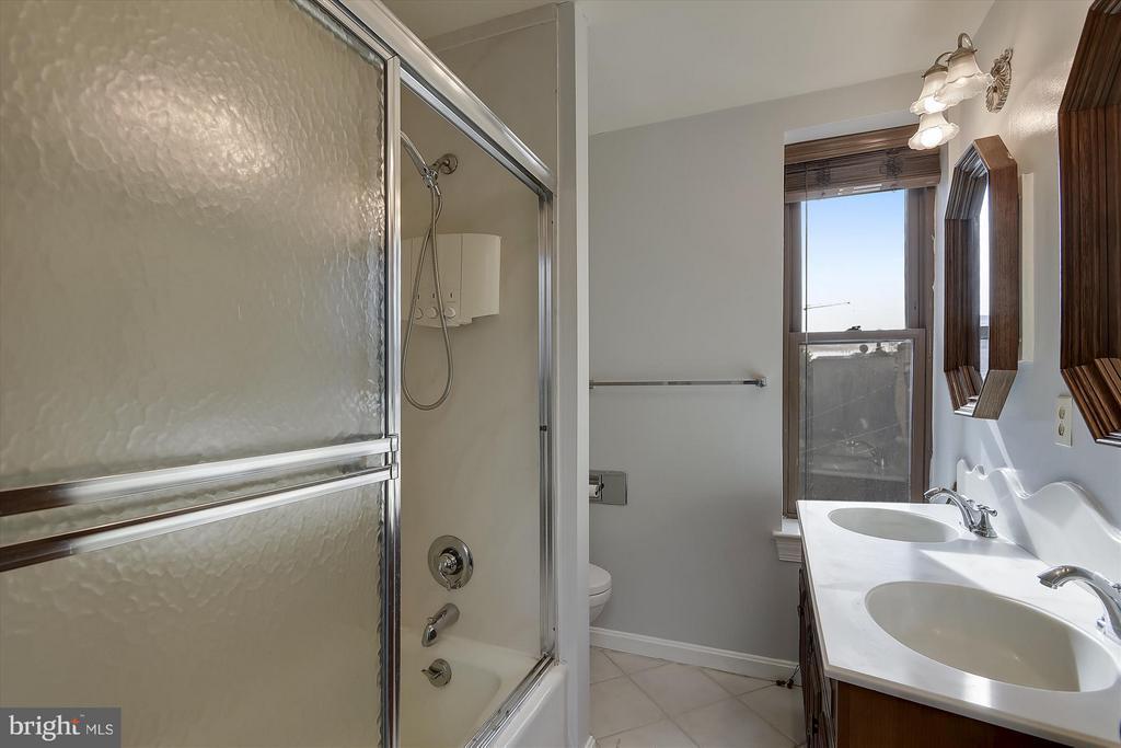 4th Floor Bathroom - 2034 O ST NW, WASHINGTON