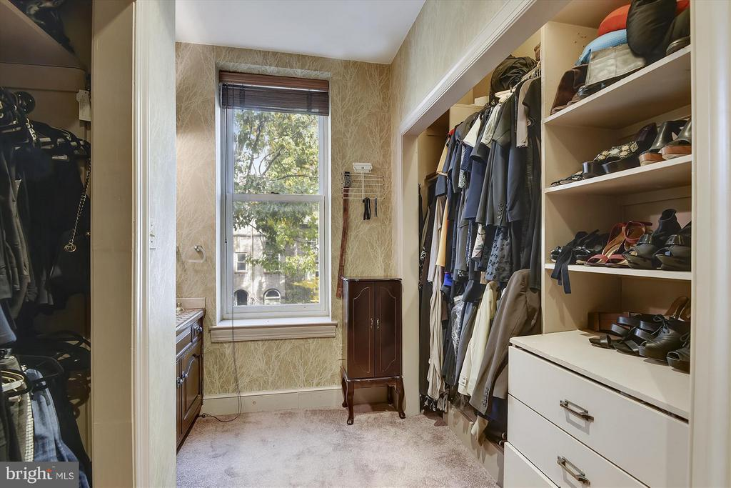 Master Bedroom Walk-in Closet - 2034 O ST NW, WASHINGTON