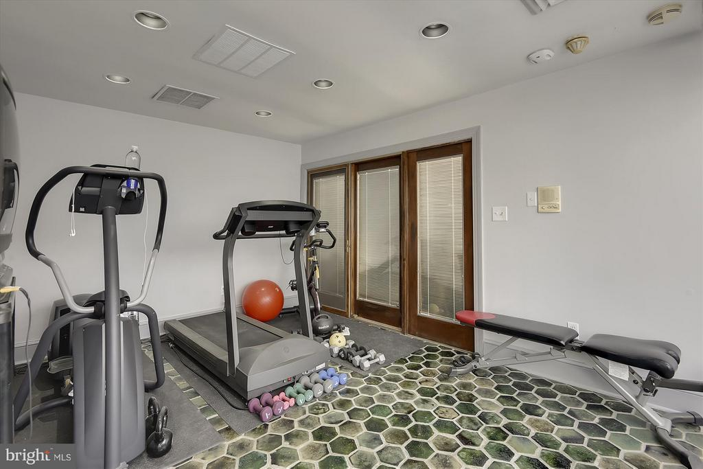 Sunroom/workout room - 2034 O ST NW, WASHINGTON
