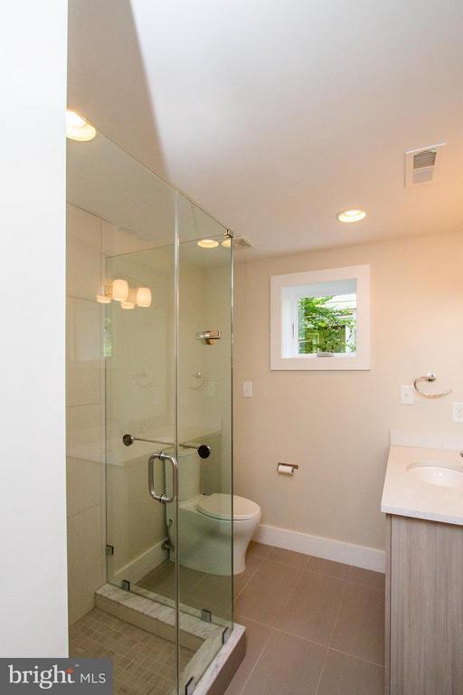 Full Bath on Lower Level - 3200 LORCOM LN, ARLINGTON