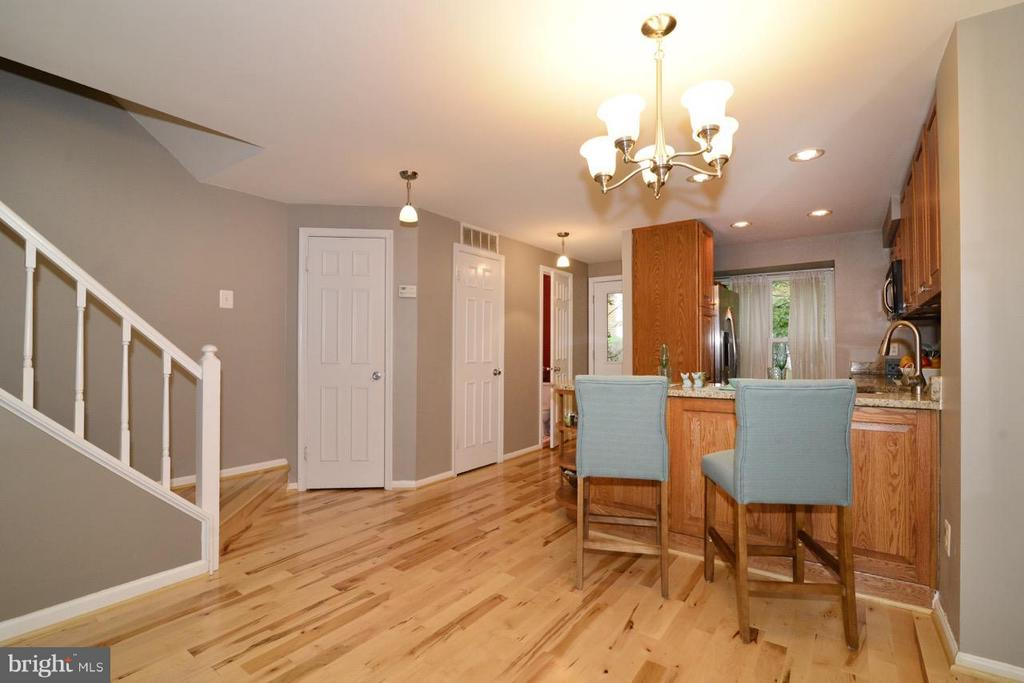 Dining Room - 11205 SILENTWOOD LN, RESTON