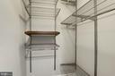 TWO master bedroom closets - 3903 GOLF TEE CT #326, FAIRFAX