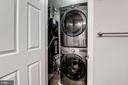 Full size washer/dryer (2015) - 3903 GOLF TEE CT #326, FAIRFAX