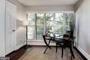 Sitting area for a home office or lounge area - 3903 GOLF TEE CT #326, FAIRFAX
