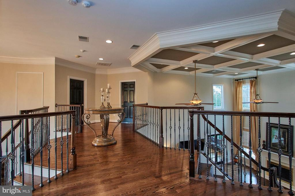 2nd floor landing*3 staircases leading to BR Suite - 15747 FOLEYS MILL PL, HAYMARKET
