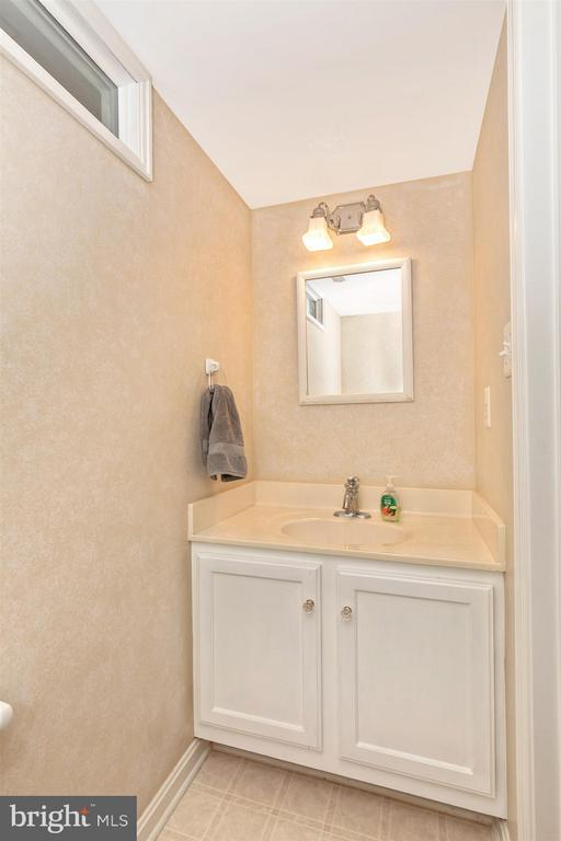 Basement Powder Room - 2213 LAMP POST LN, FREDERICK