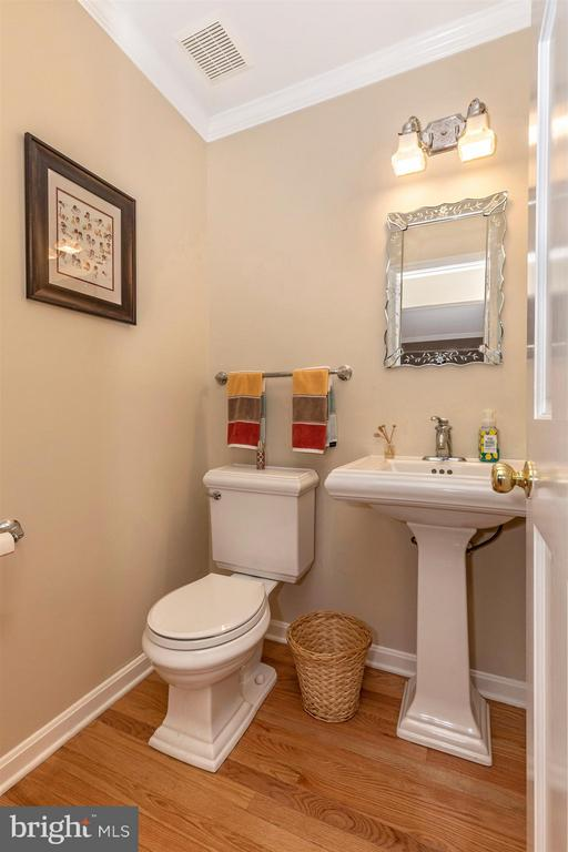 Main level Powder Room - 2213 LAMP POST LN, FREDERICK