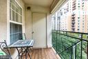 Balcony - 1320 WAYNE ST #408, ARLINGTON