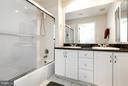 Full Bath on main level - 1320 WAYNE ST #408, ARLINGTON
