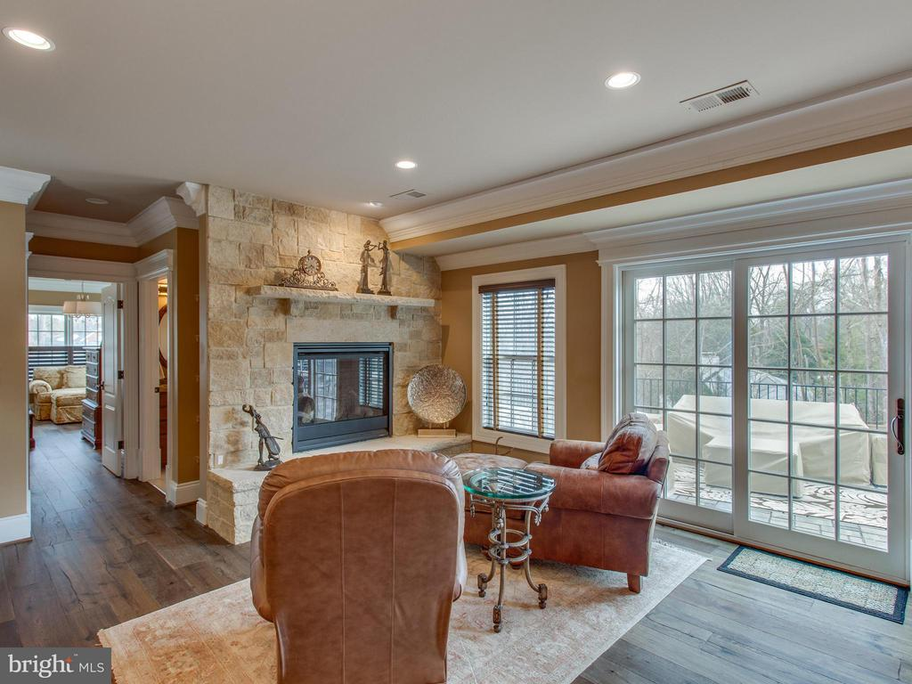Lower Level Parlor with Fireplace - 2325 QUEBEC ST N, ARLINGTON