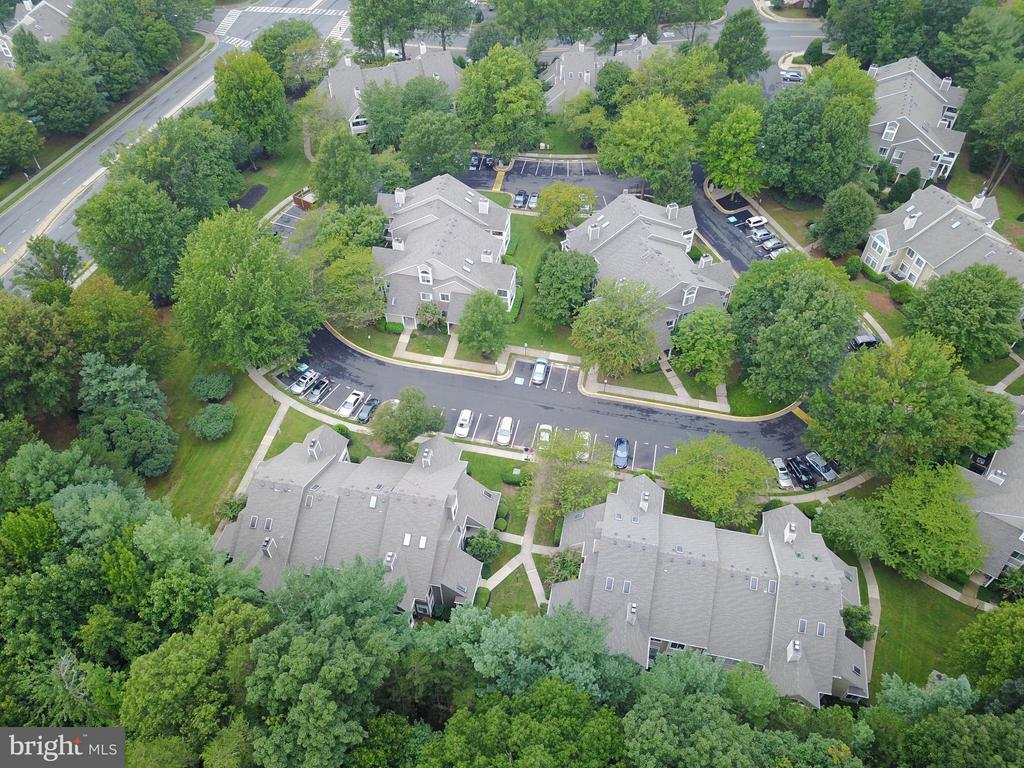 Bird's Eye view of the community - 12258 FORT BUFFALO CIR #508, FAIRFAX