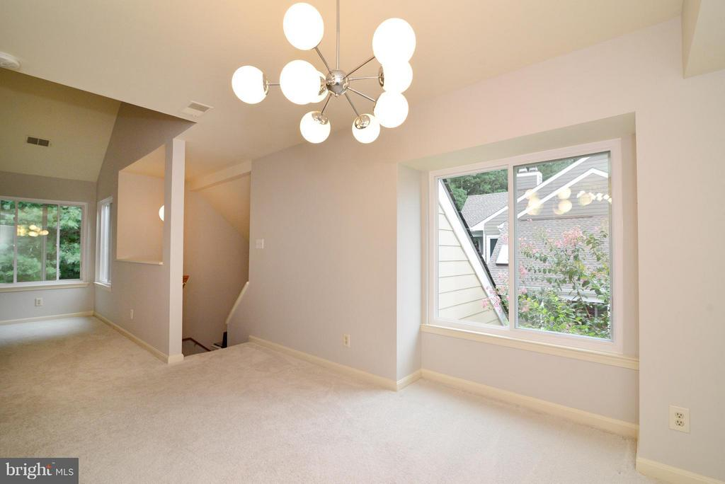 Modern lighting throughout the property - 12258 FORT BUFFALO CIR #508, FAIRFAX