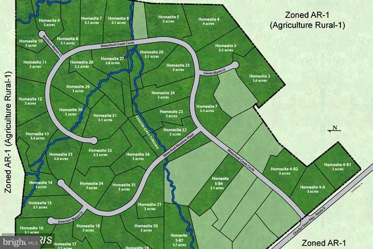 Waterford Creek Site Plan - 15979 WATERFORD CREEK CIR, HAMILTON