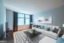 Living Room - 1021 GARFIELD ST N #236, ARLINGTON