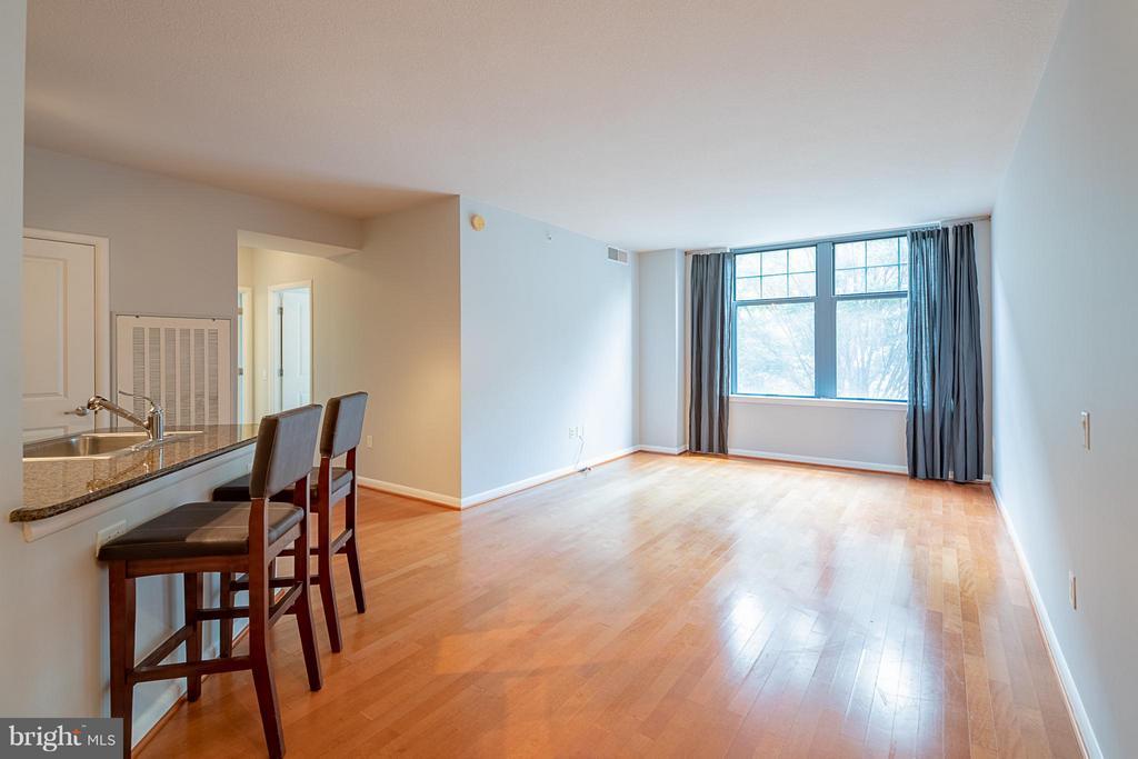 Living room and breakfast bar - 1021 GARFIELD ST N #236, ARLINGTON