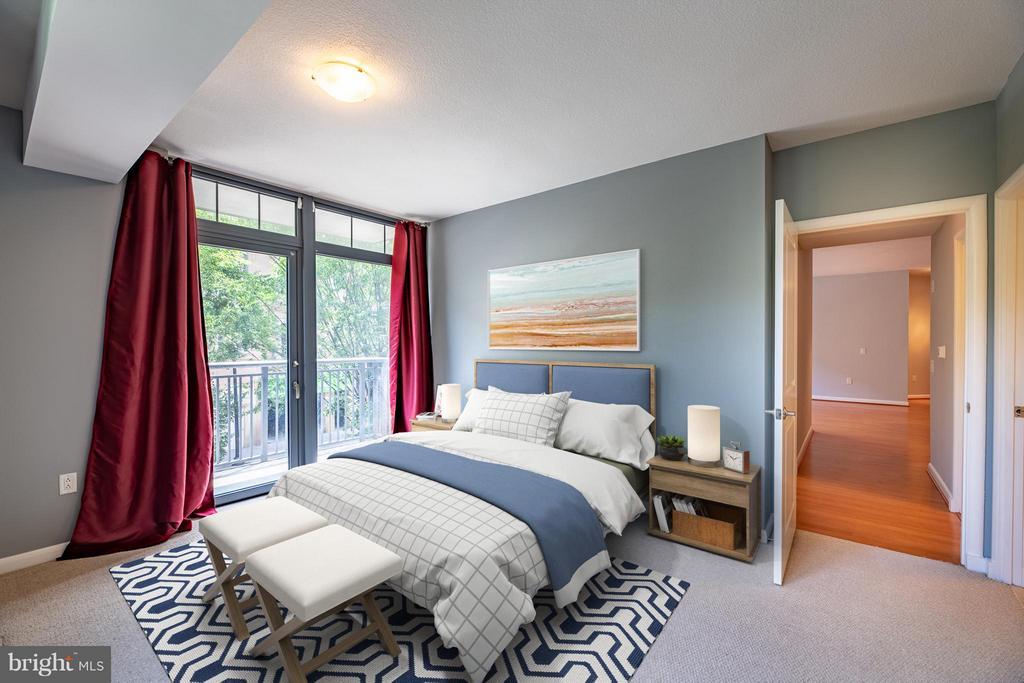 Bedroom (Master) - 1021 GARFIELD ST N #236, ARLINGTON