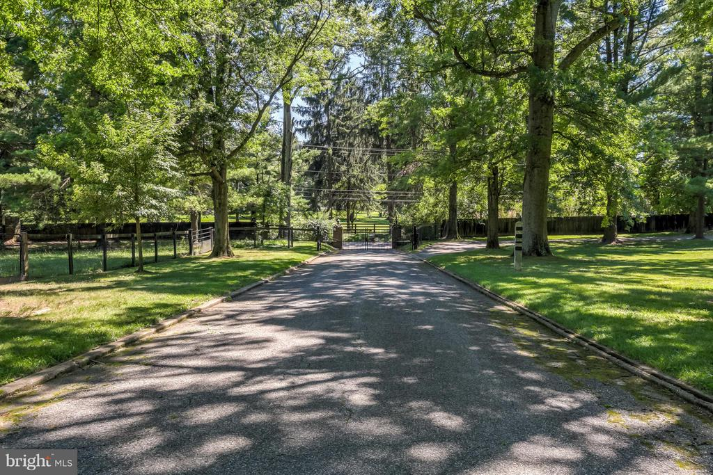 Estate Driveway - 918 GREENSPRING VALLEY RD, BROOKLANDVILLE