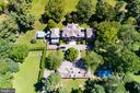 Aerial - 918 GREENSPRING VALLEY RD, BROOKLANDVILLE