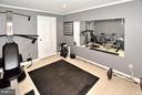 Fitness room - could be unofficial guest room - 5803 STONE RIDGE DR, CENTREVILLE