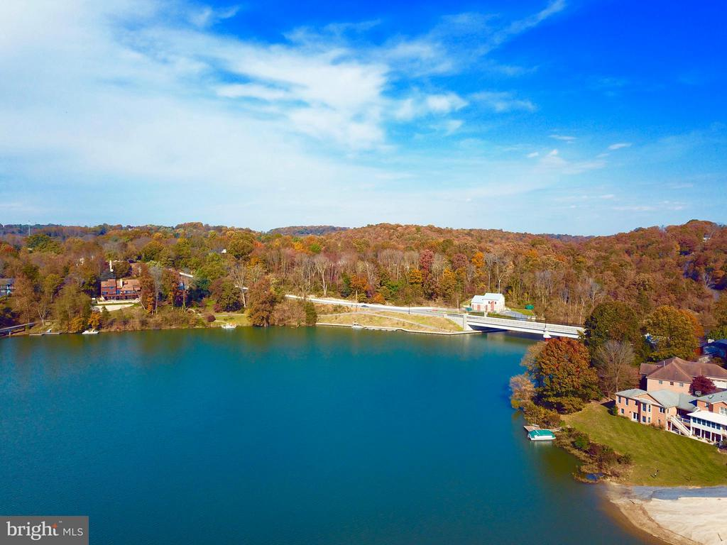 Water Views~- Drone View - 6520 NIGHTINGALE CT, NEW MARKET