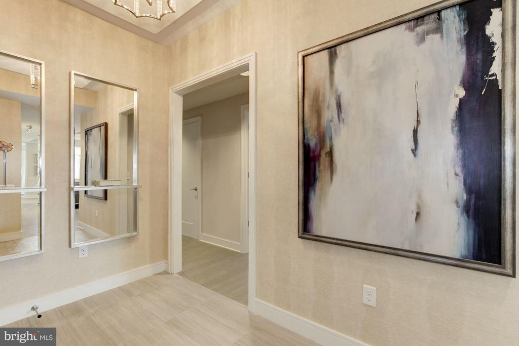 Entryway - 8302 WOODMONT AVE #801, BETHESDA