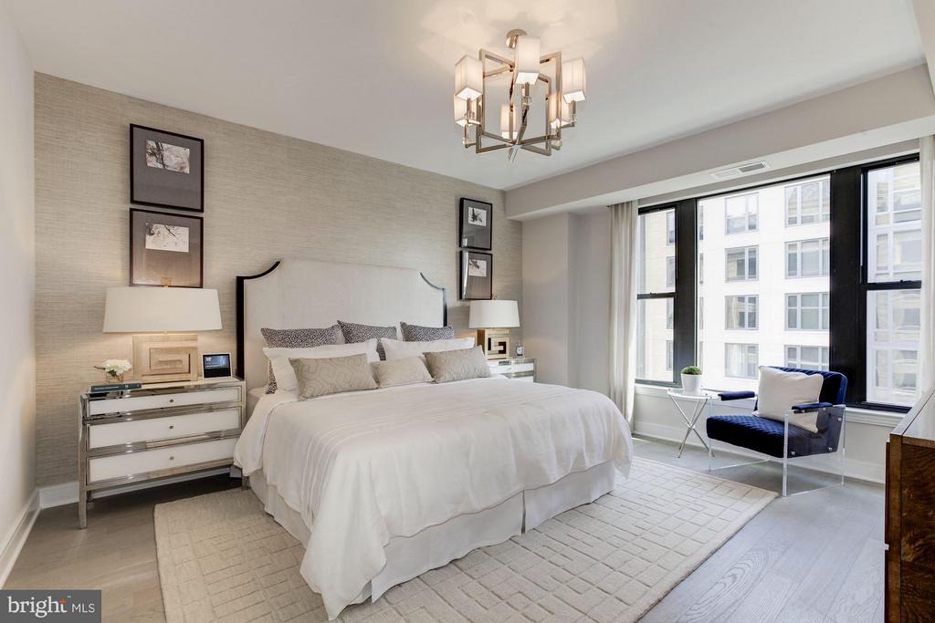 Master bedroom - 8302 WOODMONT AVE #801, BETHESDA