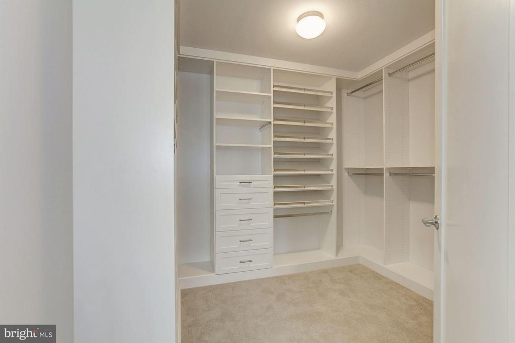 Two ready to be designed closets in the master br - 8302 WOODMONT AVE #801, BETHESDA