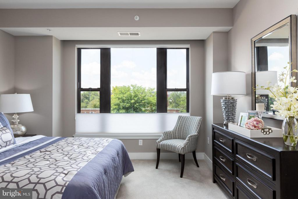 Bedroom - 8302 WOODMONT AVE #700, BETHESDA