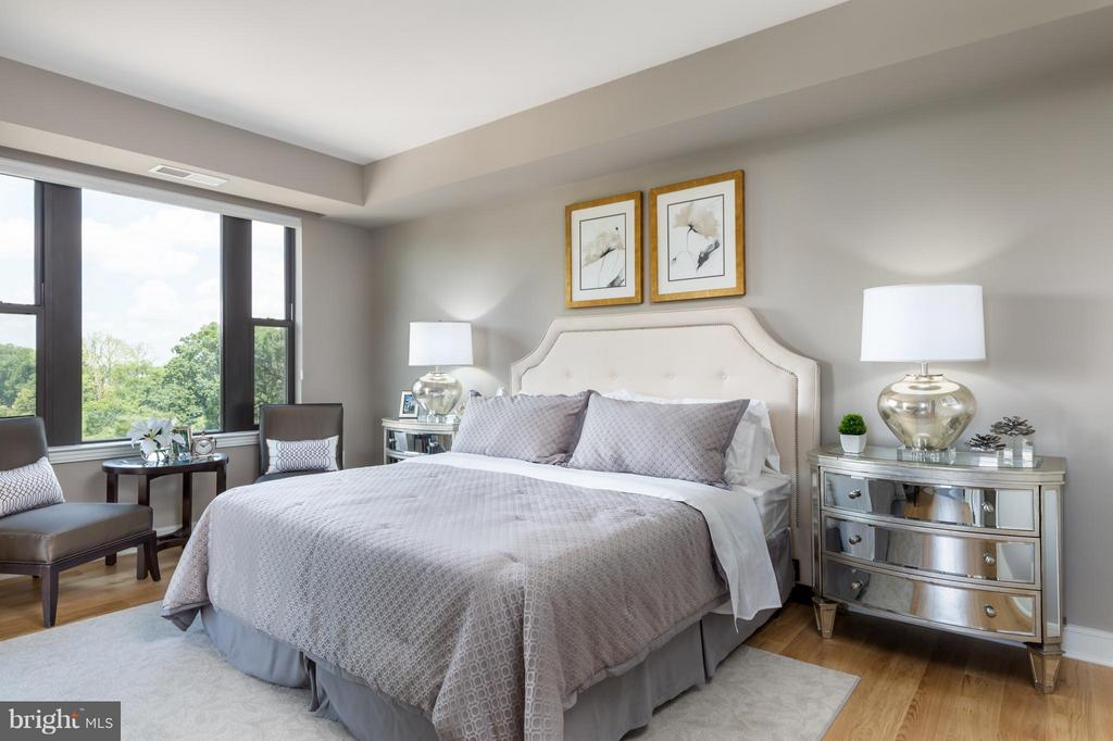 Bedroom (Master) - 8302 WOODMONT AVE #700, BETHESDA