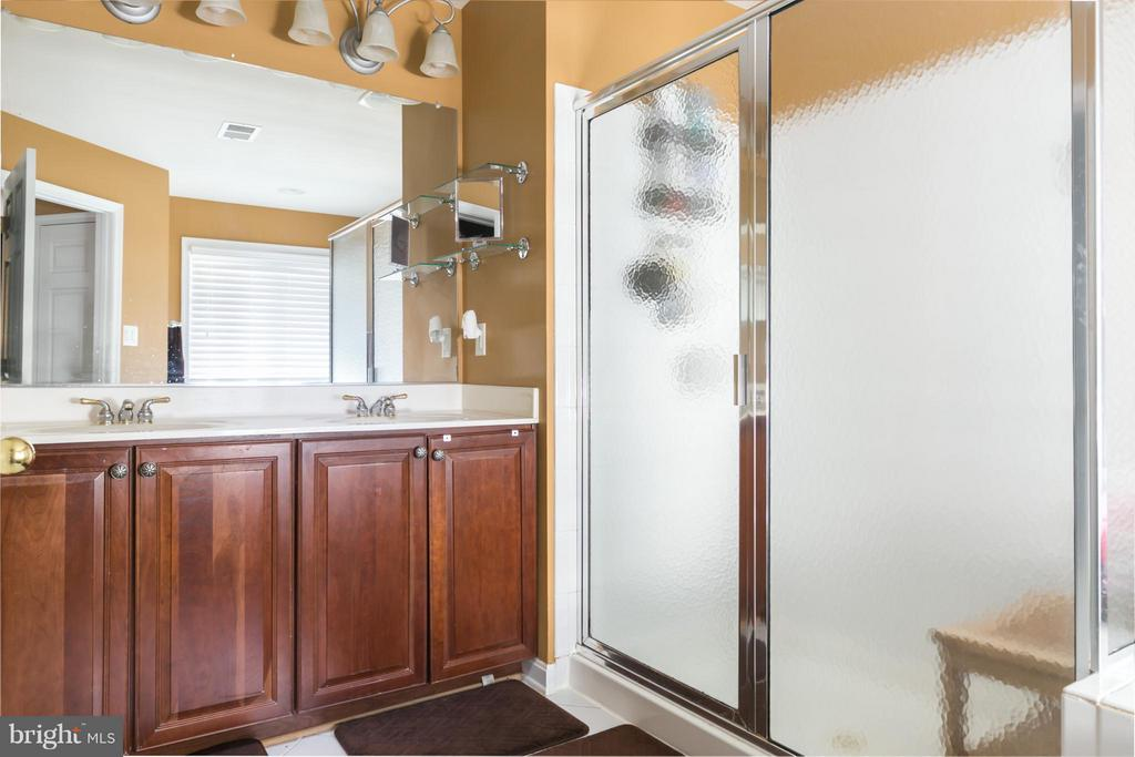 Beautifully updated master bath - 20358 CENTER BROOK SQ, STERLING