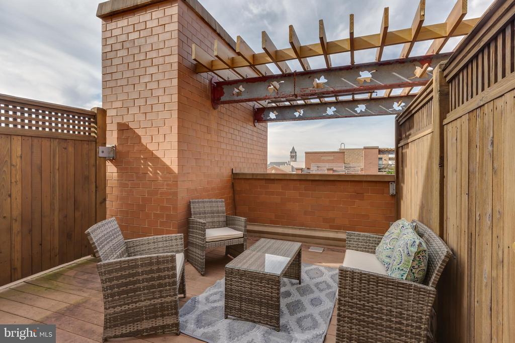 Private roof terrace to dine and relax w/ guests! - 616 E ST NW #1150, WASHINGTON