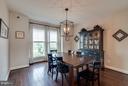Dining Room - 42262 PALLADIAN BLUE TER, ASHBURN