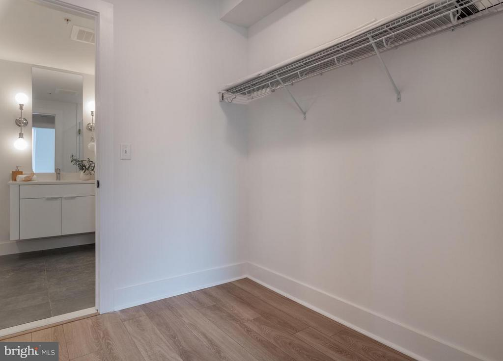 walk-in closet - 801 VIRGINIA AVE SE #206, WASHINGTON