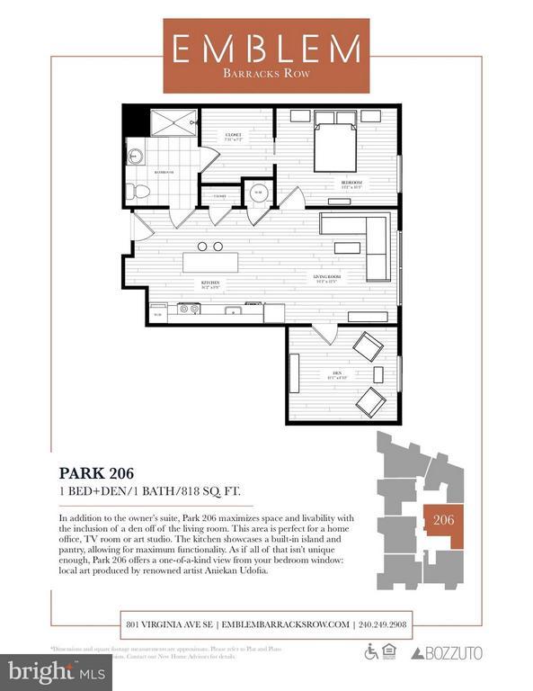 Interior (General) - 801 VIRGINIA AVE SE #206, WASHINGTON