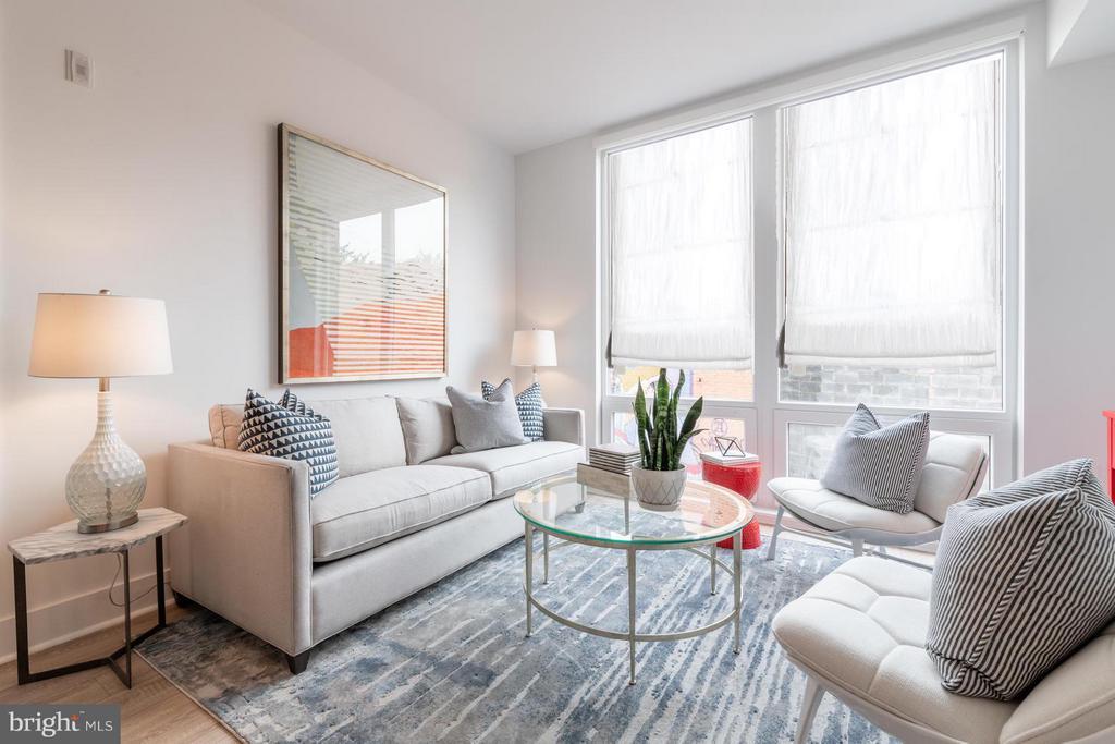 Living Room - 801 VIRGINIA AVE SE #206, WASHINGTON