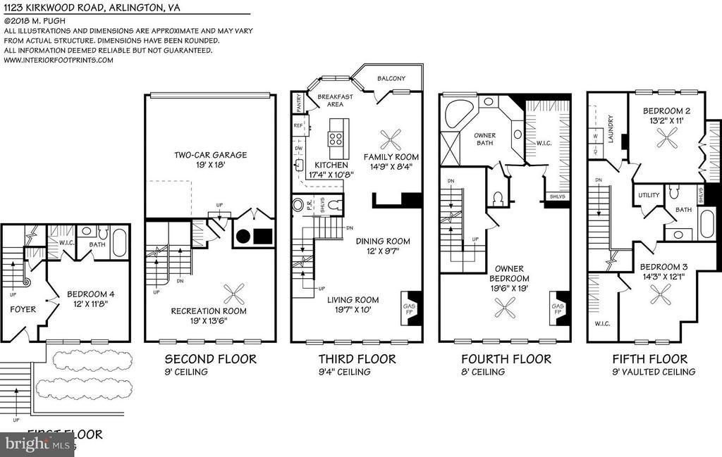 Floorplan - 1123 KIRKWOOD RD, ARLINGTON