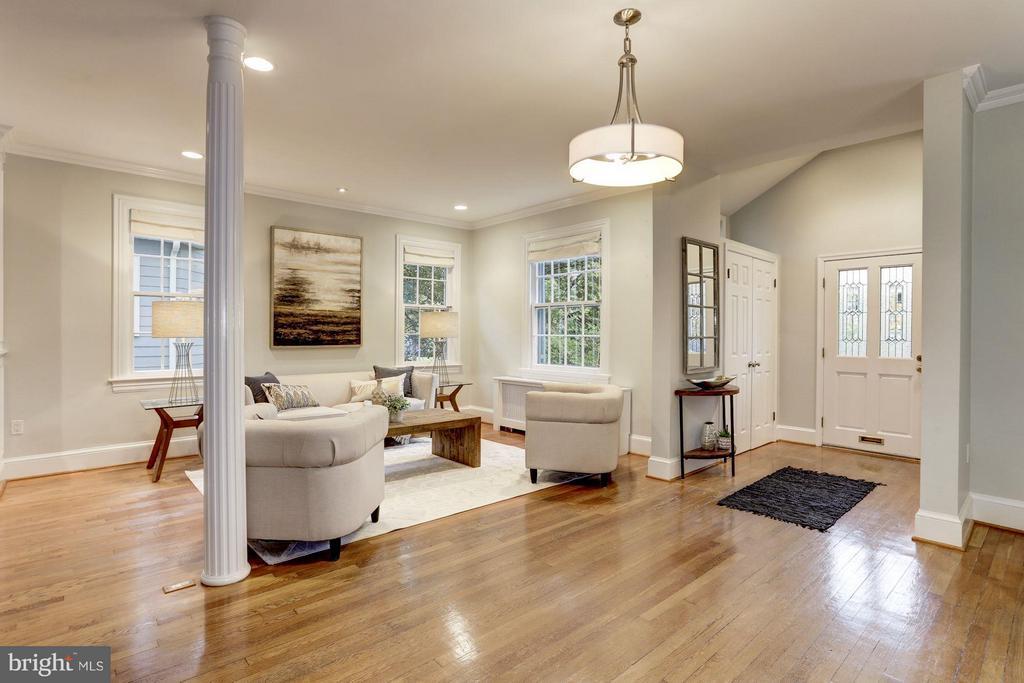 Spacious Living Area - 5464 31ST ST NW, WASHINGTON
